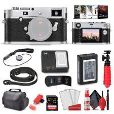 Leica M - P (Typ 240) Digital Rangefinder Camera (Silver Chrome) (10772) + 64GB