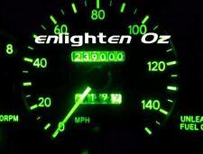 Green LED Light Dash Gauge Kit:  Toyota Hilux Lowlux Minitruck 1988-1997