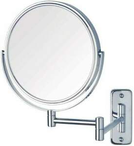 Ablaze Wall Mounted Shaving Mirror with 8x Magnification