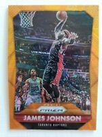 2014-15 Panini Prizm Orange Wave #225 James Johnson RARE SHORT PRINT - MINT!
