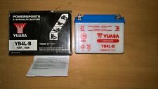 BATTERIE YUASA 12V   SCOOTER , MOTO ...