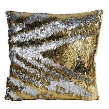 Relleno Moderno Lentejuelas Oro plata grueso terciopelo cojín 45.7cm-45cm