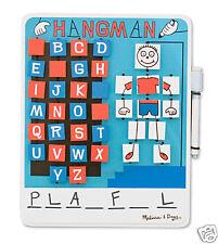Melissa & Doug Wooden Travel Game -- Hangman --