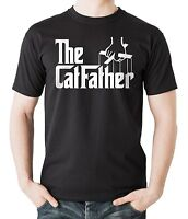 The Catfather T-Shirt Gift For Pet Lover Tee Shirt