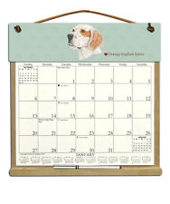 English Setter Dog Calendar Filled With 2019, 2020 & An Order Form For 2021