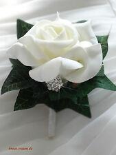 Hochzeitsanstecker für den Bräutigam oder Trauzeugen, zum Brautstrauss