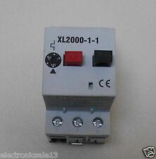RS MANUAL MOTOR CONTROLLER PART NO. XL2000-1-1