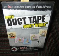 When Duct Tape Won'T Work Pc Cd-Rom, Dad'S Guide To Child Health & Safety, New