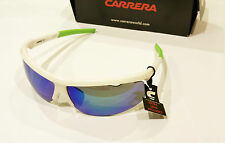 Occhiali da sole Sunglasses Carrera 4001s 03u Bianco Coppia Lenti ricambio