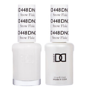 DND Daisy Duo Gel W/matching nail polish lacquer - Snow Flake 448