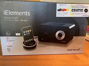 Sonoro AU-4501 iElements FM/AM Radio Design Radio Premium Radio  iPod Dock NEU!