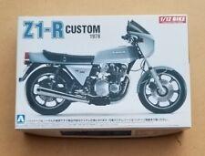 NEW AOSHIMA 1:12 SCALE 1978 KAWASAKI Z1-R CUSTOM MOTORCYCLE MODEL KIT 2400