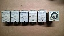 N° 1 PLC TIMER OMRON H3CR-A8 24-48VAC 12-48VDC