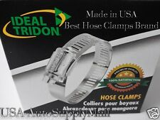 "IDEAL- Tridon Hose Clamps, Abrazaderas Size 24 (1"" to 2""), Box of 10 Made in USA"