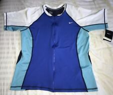 Nike Mens XL Biking BIKER Bike Cycling JERSEY Full Zip Tee Shirt Athletic NWT