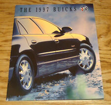 Original 1997 Buick Full Line Sales Brochure 97 Regal LeSabre Century Park Ave