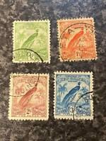 NEW GUINEA AUSTRALIA POSTAGE STAMPS SG150-3 1931 VERY-FINE USED