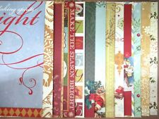 K&CO Christmas Paper from Pad, 18 Full Sheets, Retired