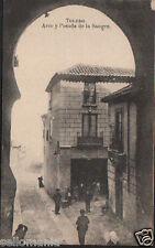 ANTIGUA POSTAL TOLEDO  ARCO Y POSADA DE LA SANGRE OLD POSTCARD POSTKARTE CC00977