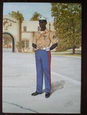 POSTCARD UNITED STATES MARINE CORPS - CORPORAL SECURITY FORCE BATTALIN ATLANTIC
