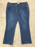 "CJ Banks jeans size 16 blue 29"" inseam denim womens"