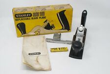 Stanley RB10 Replaceable Blade Plane W/ Rebate Fence, Spare Blades & Instruction