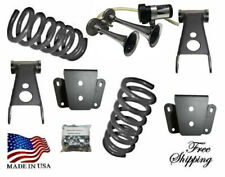 """B 1973-1979 Ford F100 F150 3""""-4"""" Drop Lowering Coil Spring Shackle Hanger Horn"""