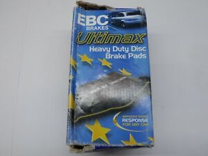 EBC Ultimax Quality Front Brake Pads fits Vauxhall Omega Calibra Cavalier
