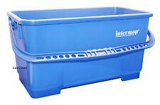 Eimer für Glasreinigung Fenster Putzen Glas Reinigung Putzeimer 25 Liter Blau