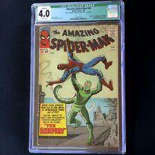 Amazing Spider-Man #20 (1965) 💥 CGC 4.0 Qualified 💥 1st App of SCORPION! Comic