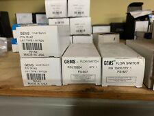 Gems Sensors Flow Switch Part # 70824