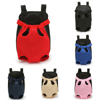 Pet Dog Cat Carrier Travel Tote Front Bag Sling Backpack Carrier Legs Out Puppy