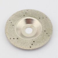 "100 mm 4"" inch Diamond Coated Grinding Disc Wheel Serrated For Angle Grinder"