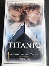 Titanic - DiCaprio & Winslet - VHS Video Kassette Zustand Gut @362