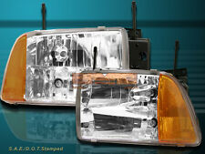 95-97 CHEVY S10/BLAZER LT LS EURO CRYSTAL HEADLIGHTS