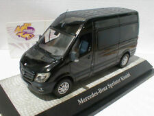 Modellini statici di auto, furgoni e camion arancione per Mercedes scala 1:43