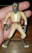 Rare Vintage 1998 Star Wars Voolvif Monn Jedi Action Figure Wolf Man LFL Kenner