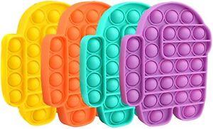 Among us Impostor 4 Pieces pop push it bubble fidget toy Tiktok New 2021