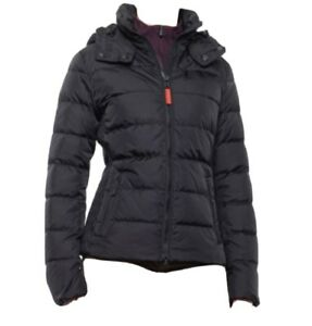 NWT Bogner Fire + Ice Lela 2 Do Black Down Ski Jacket Size 8 $650
