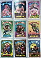 9 Card Lot 1986 Topps Garbage Pail Kids Stickers Moe Skeeto Walt Witless