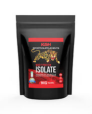 100% Whey Protein Isolate - 1kg - Made in AUS 34g Protein per serve + Free Gift
