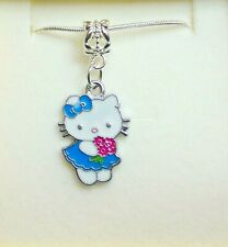 Hello Kitty Charm Necklace Christmas Gift or Birthday Gift Boxed