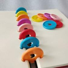 1* Mushroom Hole Disc Binding Ring Loose Leaf Notebook Binder Office Supplies