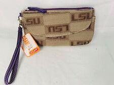 LSU Sandol Wristlet Wallet