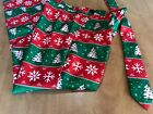 SUITMEISTER Mens Ugly Christmas Pants & Tie Red & Green Tree Snowflake M 38 40