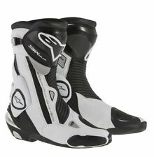 Alpinestars SMX S-MX Plus Black / White Motorcycle Racing & Sport  Boots