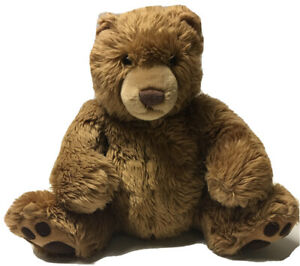 "Gund Large Brown Teddy Bear Claws Kohl's Cares 14"" Sitting Stuffed Plush Animal"