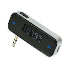 Stereo Wireless Music to Car Radio FM Transmitter Fr 3.5mm MP3 iPod Phone Tablet