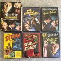 Warner Bros Film Noir Classic 5-Disc Boxset DVD Collection EXCELLENT Discs!