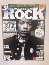 JIMI HENDRIX FRONT COVER CLASSIC ROCK MAGAZINE ISSUE 135 AUGUST 2009 ASH UFO